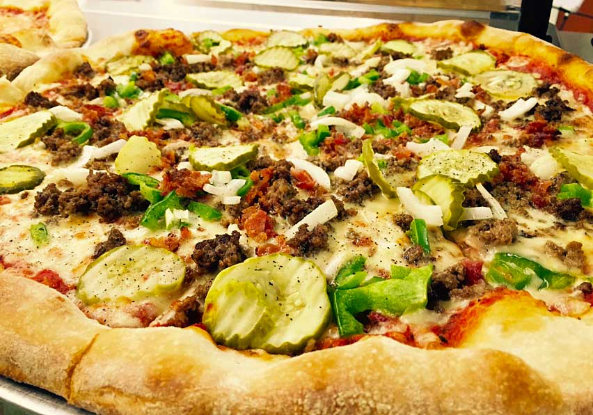 Pickle Pizza